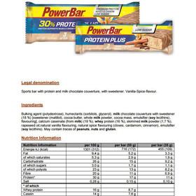 PowerBar ProteinPlus Riegel Box Chai Latte Vanilla 30 x 35g